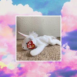 TY 'Mystic the Unicorn' BEANIE BABY RARE NWT
